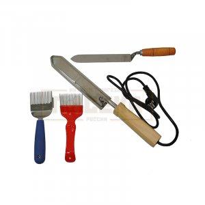 Ножи и вилки для распечатки сот